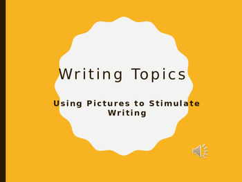 Writing Warm Ups- Using Pictures to Stimulate Writing