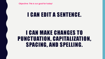 Writing Warmups