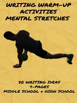 Writing Warm-up Activities: Mental Stretches
