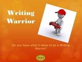Writing Warrior Skit