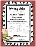 Writing Webs All Year Around