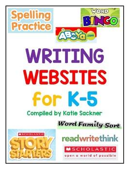 Writing Websites for K-5