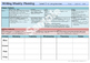 Writing Weekly Planning Sheets (New Zealand Writing Exempl