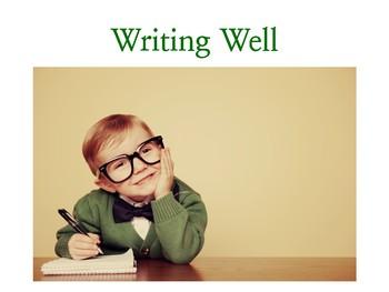 Writing Well Presentation