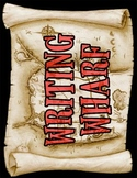 Writing Wharf Title Poster (Pirate/Nautical Theme)