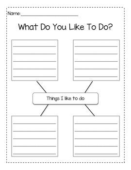 Writing: What I Like To Do