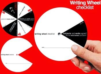 Writing Wheel Checklist