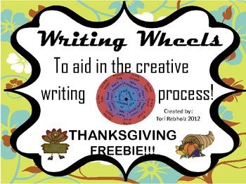 Writing Wheel- Thanksgiving Freebie!