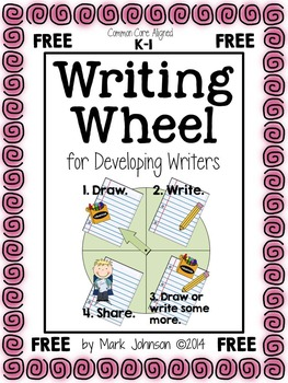 Writing Wheel for Developing Writers {FREE}