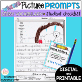 Winter Writing Prompts - Google Classroom™/Slides™ Distance Learning