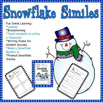 Writing: Winter Snowflake Similes
