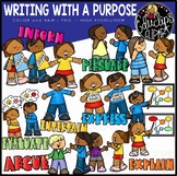 Writing With A Purpose Clip Art Set {Educlips Clipart}