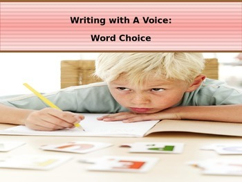 Writing With A Voice