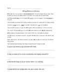 Writing With Correct Verb Tenses