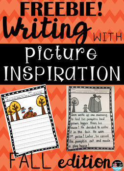 Writing With Picture Inspiration~FALL FREEBIE!