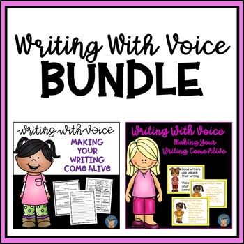Writing With Voice BUNDLE