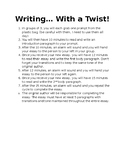Writing... With a Twist!