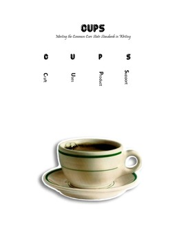 Writing With the Common Core:  CUPS mnemonic for Writing Instruction