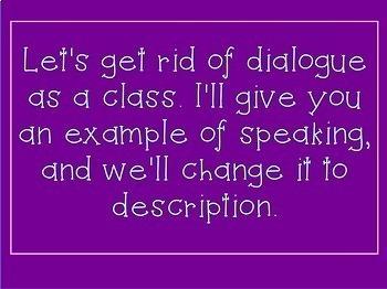 Descriptive Writing PowerPoint