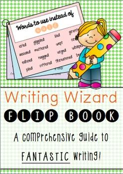Writing Wizard Flip Book