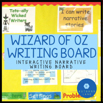 Toto-ally Wicked Writers: A Pick Your Plot Narrative Board