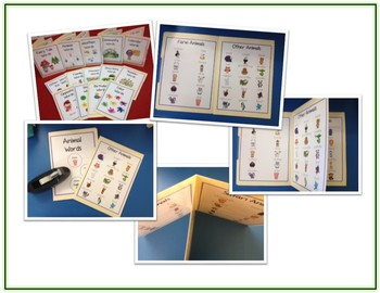 Writing Word File Folder - 30 Primary Thematic Folders - Pictures - Word Walls