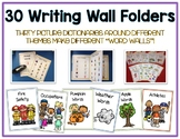 Writing Word File Folder - Thematic Folders - Pictures - W