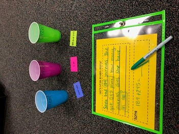 Writing Word Problems Game
