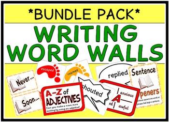 Writing Word Walls (BUNDLE PACK)