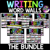 Writing Word Walls Bundle: Writing Posters, Word Wall Card