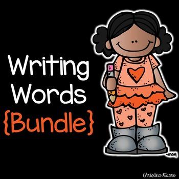 Writing Words {Bundled}