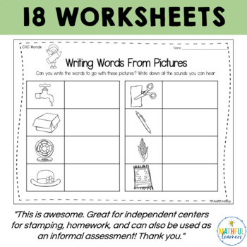 Learn to Write Worksheets