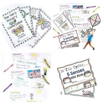 Writing and Word Work Activities Bundle