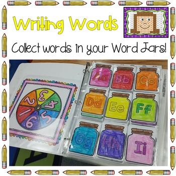 Writing Words - Word Jars