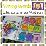 Writing Words - Word Jars