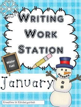 Writing Work Station- Winter Edition