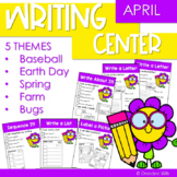 Writing Center | Kindergarten and 1st grade APRIL