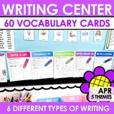 Writing Center   Kindergarten and 1st grade APRIL