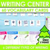 Writing Station for December