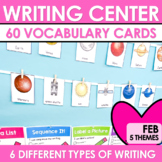 Writing Station for February