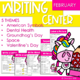 Writing Center   Kindergarten and 1st grade FEBRUARY