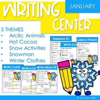 Writing Center | Kindergarten and 1st grade JANUARY