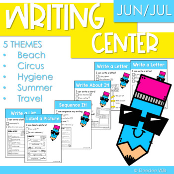 Writing Station for June and July