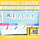 Writing Center | Kindergarten and 1st grade NOVEMBER