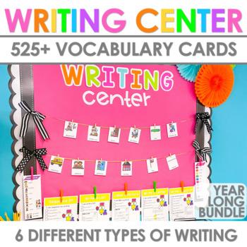 Writing Center   Kindergarten and 1st Grade BUNDLE
