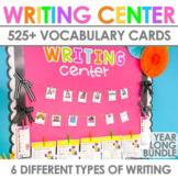 Writing Center   Kindergarten, 1st Grade & 2nd Grade BUNDLE
