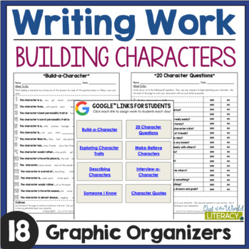 Writing Activities: Character Traits
