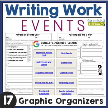 Writing Activities: Events