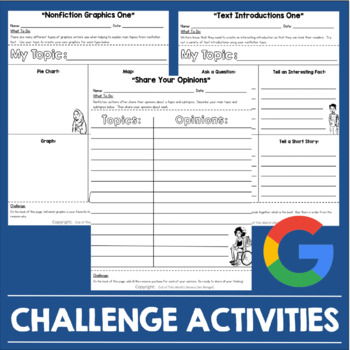 Writing Activities: Nonfiction