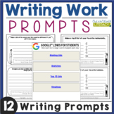 Writing Activities: Writing Prompts
